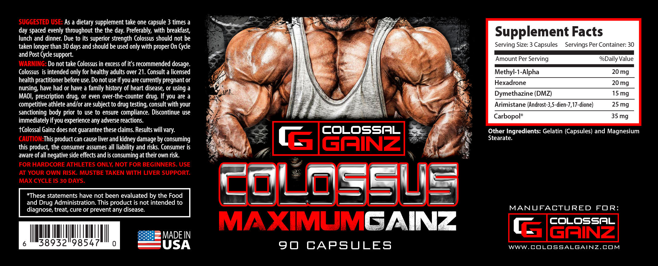Colossus Label